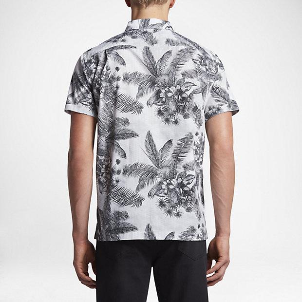 ... Hurley Long Waves Men's Short Sleeve Shirt