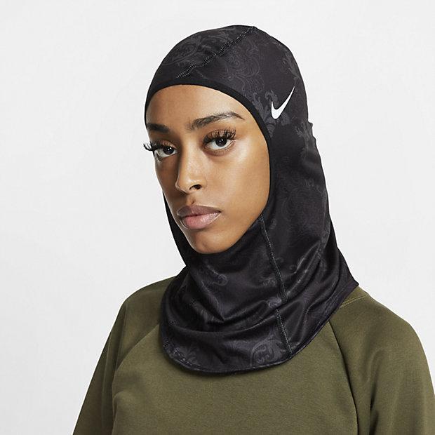 Mönstrad hijab Nike Pro