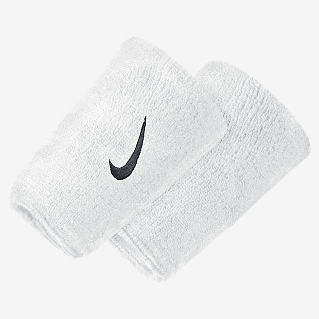 Low Resolution Nike Swoosh Extra Wide Wristbands