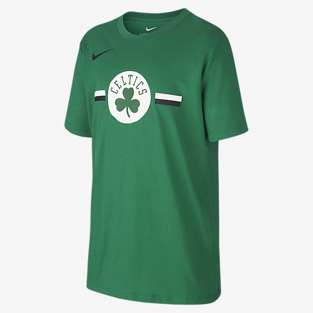 T-Shirt NBA για μεγάλα παιδιά Boston Celtics Nike Dri-FIT Logo