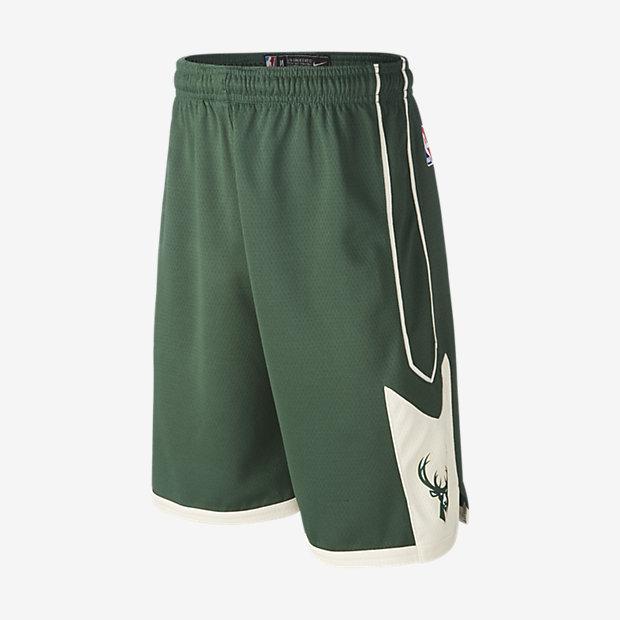 Milwaukee Bucks Nike Icon Edition Swingman NBA-Shorts für ältere Kinder (Jungen)