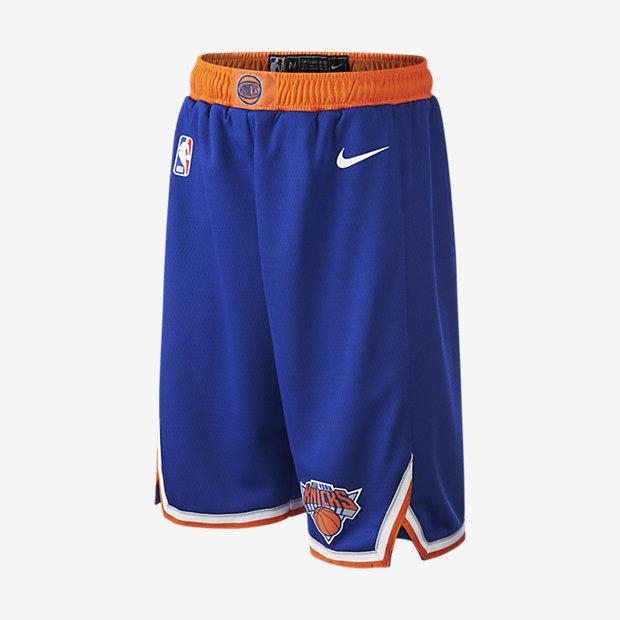Shorts New York Knicks Icon Edition Swingman NBA för ungdom