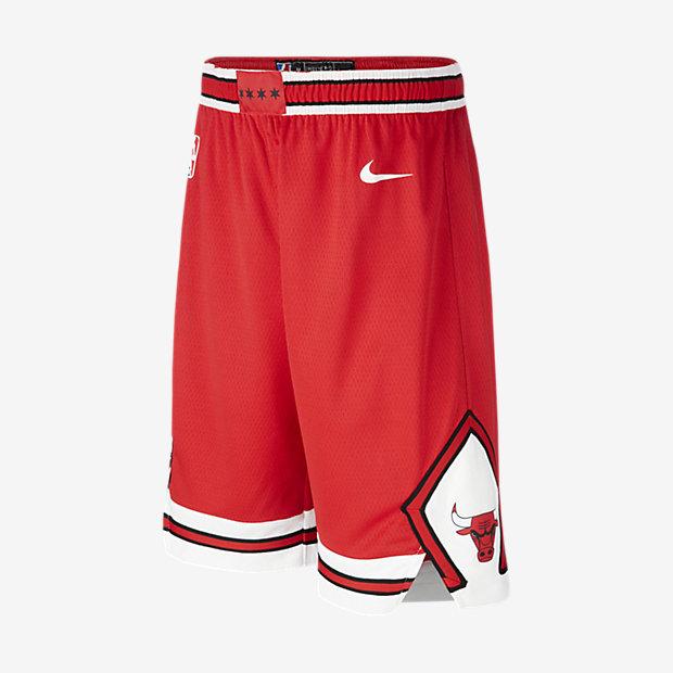 Chicago Bulls Nike Icon Edition Swingman Pantalón corto de la NBA - Niño