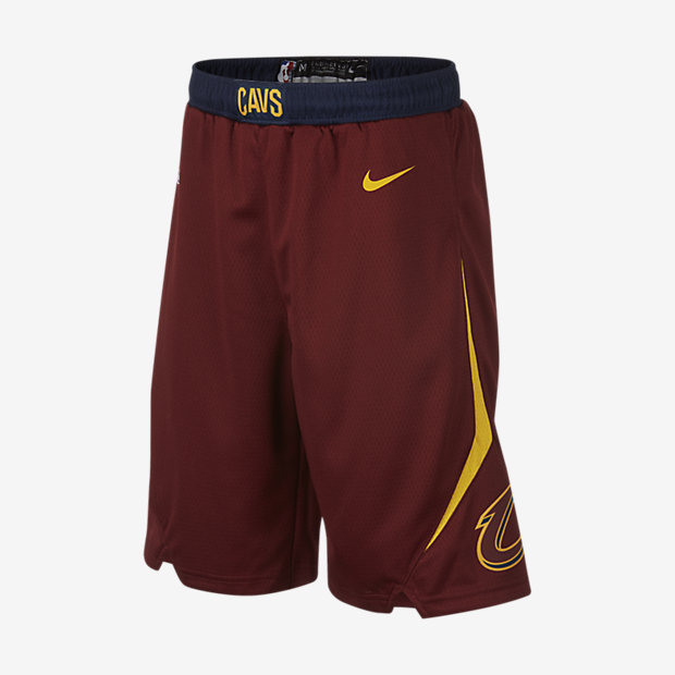Cleveland Cavaliers Nike Icon Edition Swingman NBA-shorts för ungdom (killar)