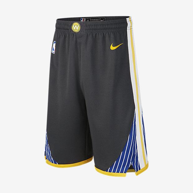 Golden State Warriors Statement Edition Swingman Nike NBA-Shorts für Kinder