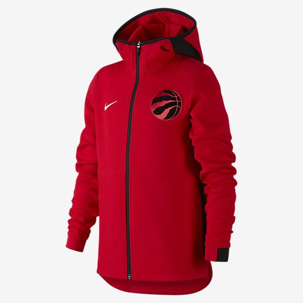 Bunda NBA Toronto Raptors Nike Showtime pro větší děti (chlapce)