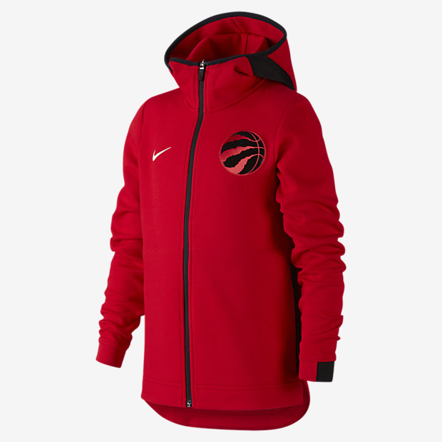 Veste NBA Toronto Raptors Nike Showtime pour Garçon plus âgé