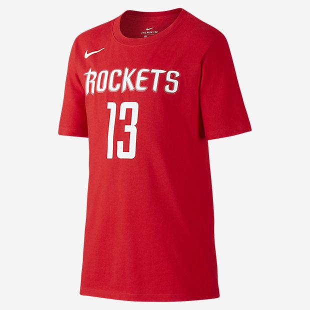 T-shirt Nike Icon NBA Rockets (Harden) för ungdom (killar)