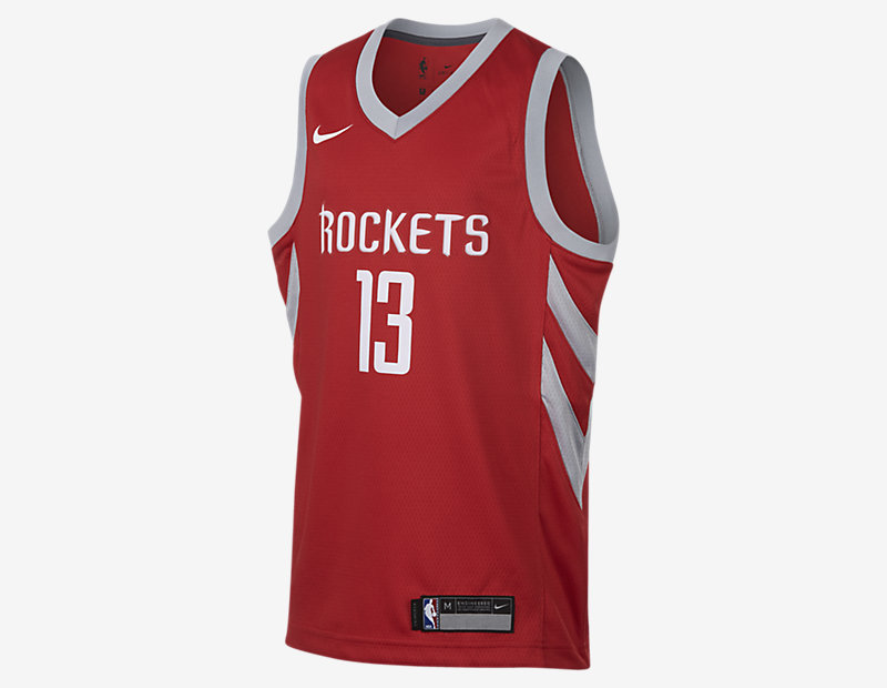 James Harden Houston Rockets Nike Icon Edition Swingman