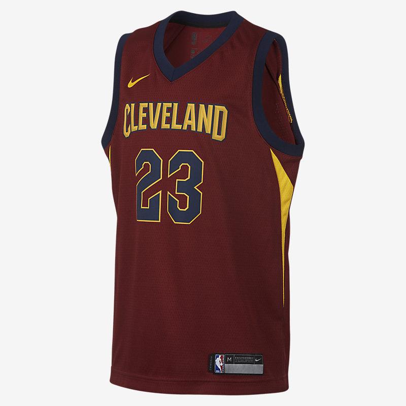 LeBron James Cleveland Cavaliers Nike Icon Edition Swingman