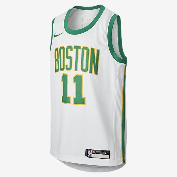 Maglia Kyrie Irving City Edition Swingman (Boston Celtics) Nike NBA - Ragazzi