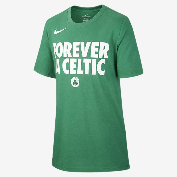 NBA-t-shirt Boston Celtics Nike Dri-FIT för killar