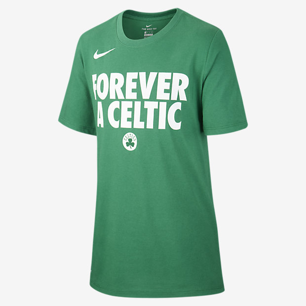 Tee-shirt NBA Boston Celtics Nike Dri-FIT pour Garçon