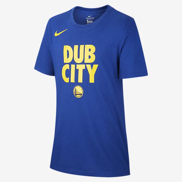 NBA-t-shirt Golden State Warriors Nike Dri-FIT för killar