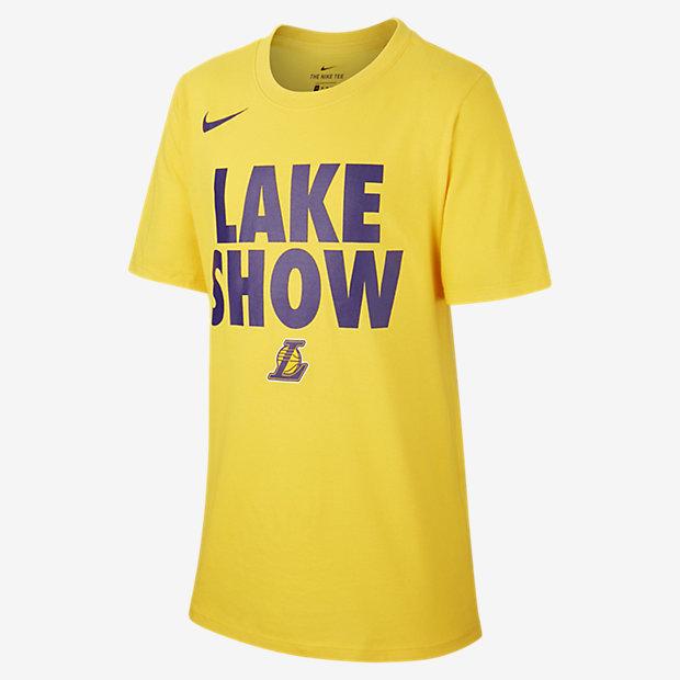 NBA-t-shirt Los Angeles Lakers Nike Dri-FIT för killar