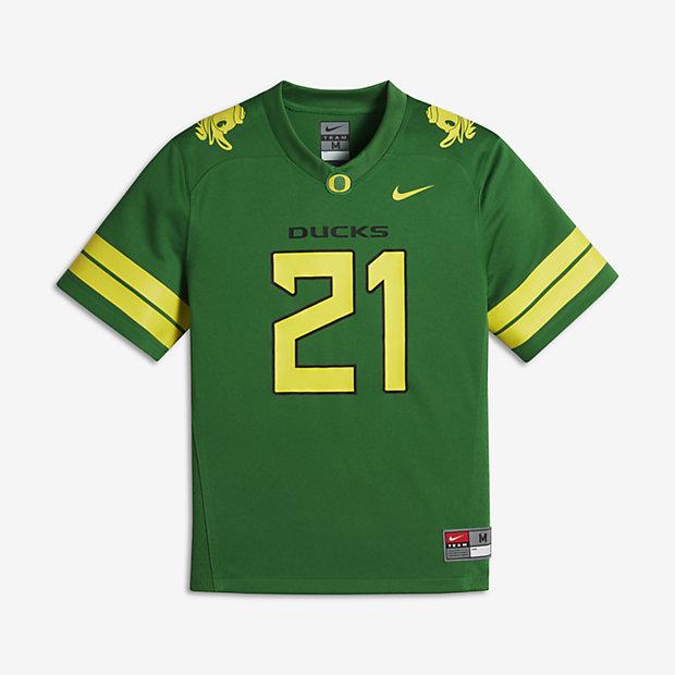 Nike Football Game (Oregon) Big Kids' Jersey
