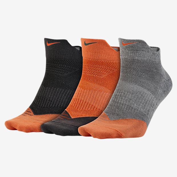 Low Resolution Nike Dri-FIT Lightweight Low-Quarter 男子训练袜(3 双)