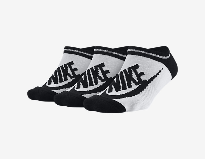 Image of Nike Sportswear Striped No-Show