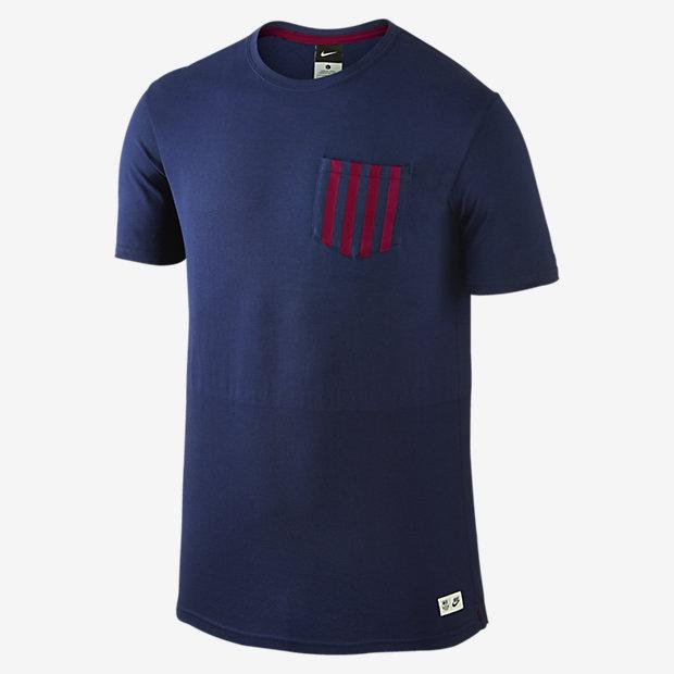 Мужская футболка FC Barcelona Authentic Sideline