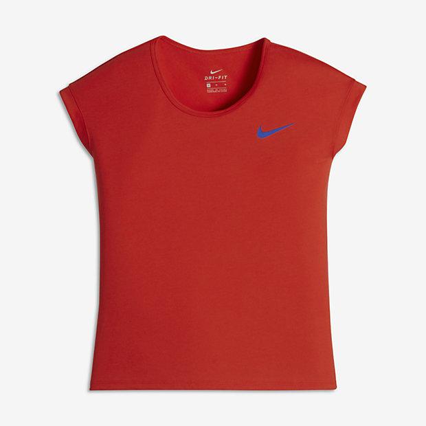 Футболка для тренинга с коротким рукавом для девочек школьного возраста Nike Dry