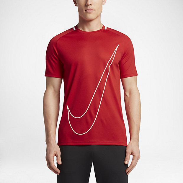 Мужская игровая футболка с коротким рукавом с графикой Nike Dry Academy