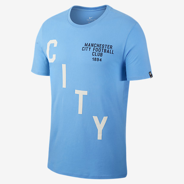 Мужская футболка Manchester City FC Squad