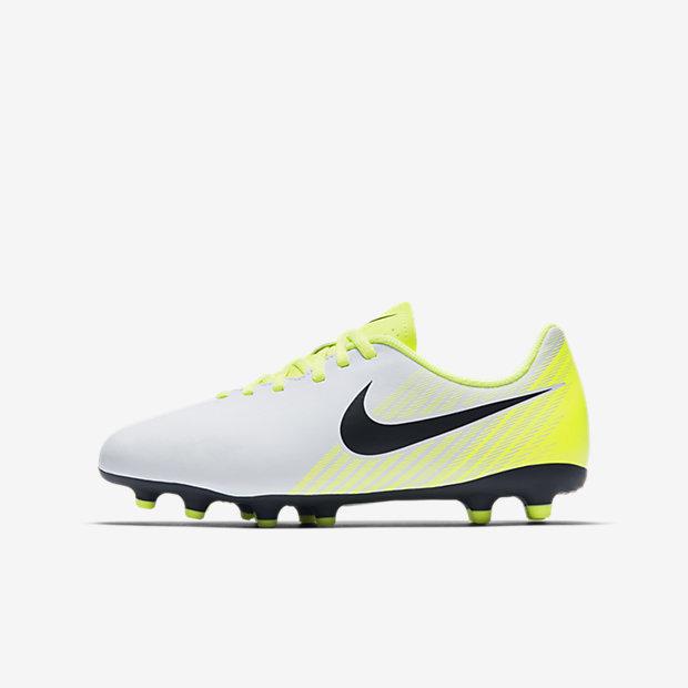 Футбольные бутсы для игры на твердом грунте для дошкольников/школьников Nike Jr. Magista Ola II (1Y–6Y)