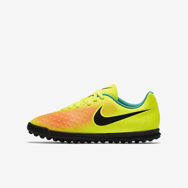 Футбольные бутсы для дошкольников/школьников для игры на газоне Nike Jr. Magista Ola II TF (1Y–6Y)