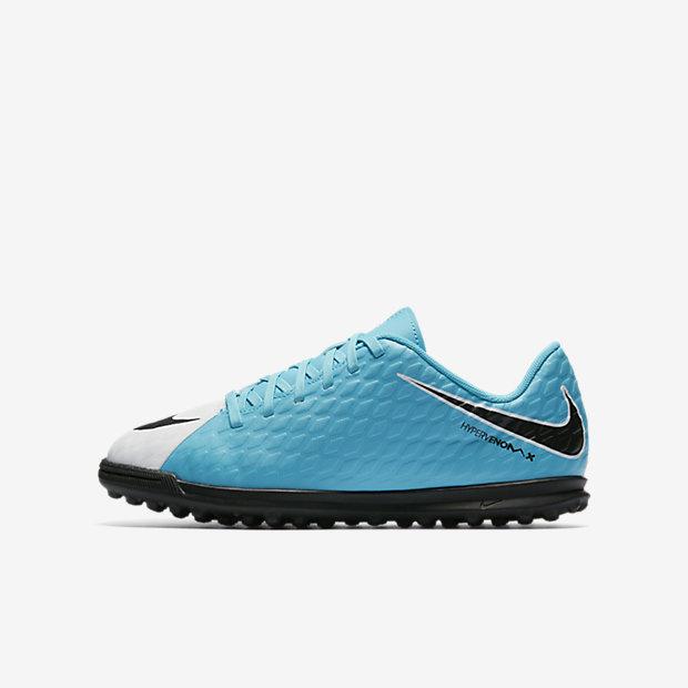 Футбольные бутсы для игры на газоне для дошкольников/школьников Nike Jr. HypervenomX Phade 3