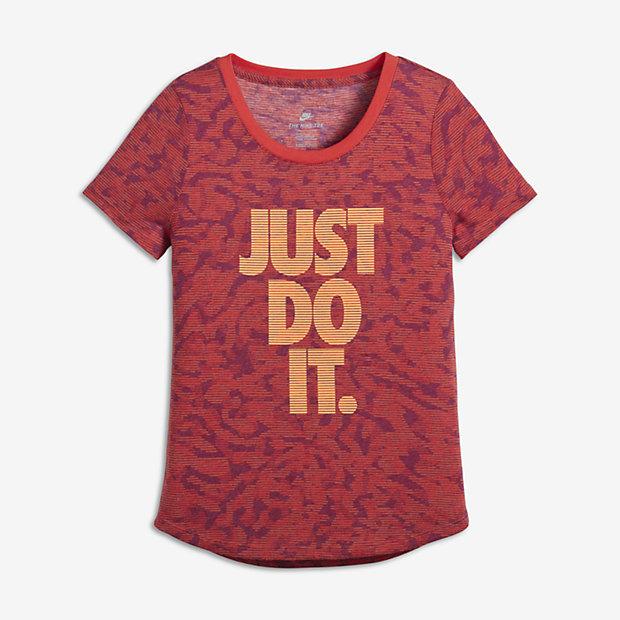 Футболка для девочек школьного возраста Nike Sportswear Tigress