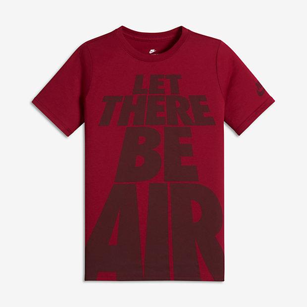 """Футболка для мальчиков школьного возраста Nike Sportswear """"Let There Be Air"""""""