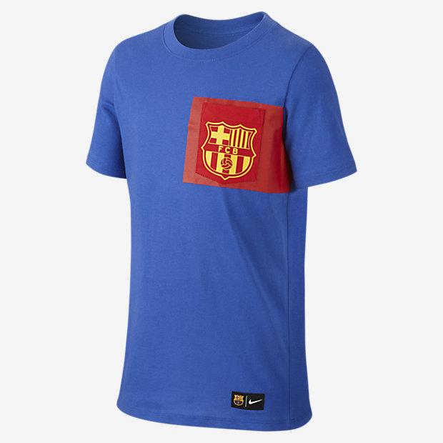 Игровая футболка для детей школьного возраста FC Barcelona Crest