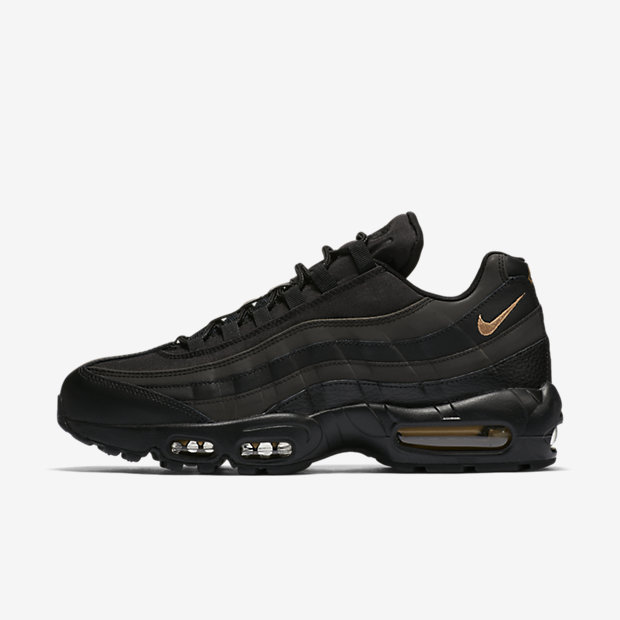 Nike Air Max 95 Premium SE Men's Shoe - Black Image