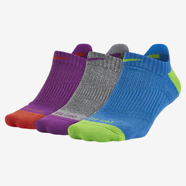 Спортивные носки Nike Dri-FIT Cushion No-Show Tab (3 пары)