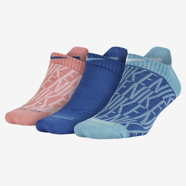 Носки для тренинга Nike Dry Graphic No-Show (3 пары)