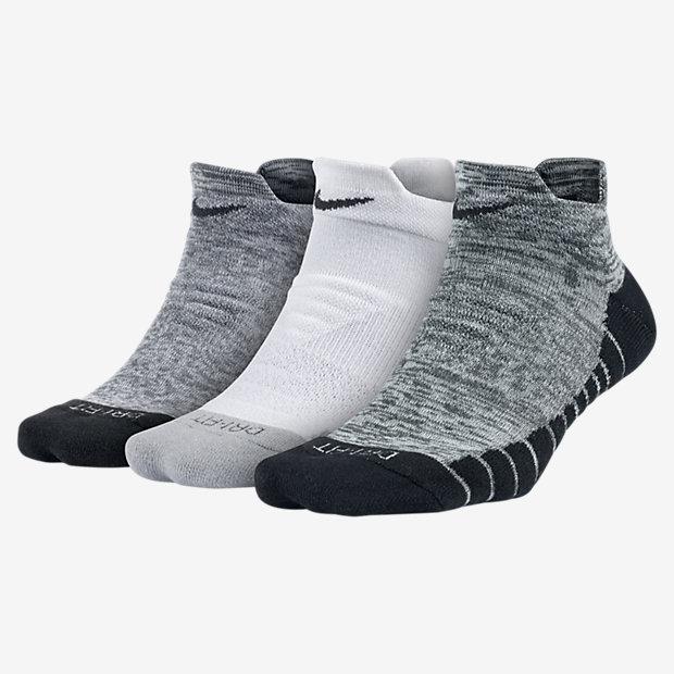 Носки для тренинга Nike Dry Cushion Graphic Low (3 пары)
