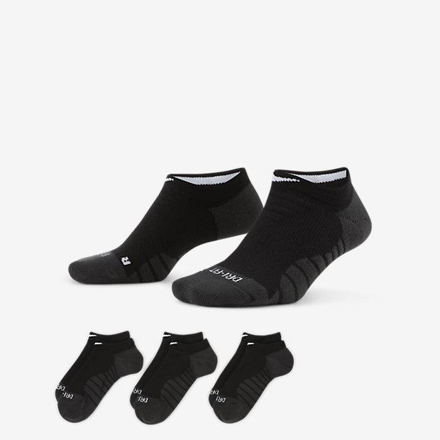 Носки для тренинга Nike Dry Cushion No-Show (3 пары)