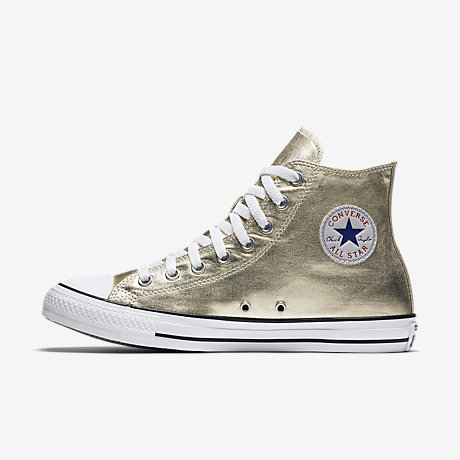 Converse Chuck Taylor All Star Metallic High Top Unisex Shoe