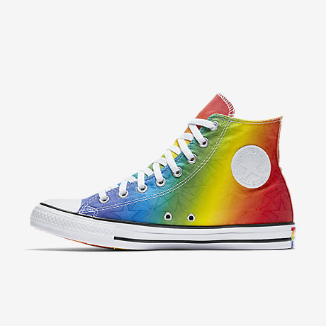 Converse Chuck Taylor All Star Pride Geostar High Top Unisex Shoe