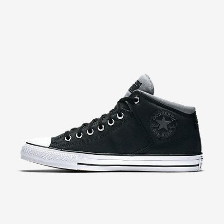 converse all star high tops. converse chuck taylor all star cordura high street top men\u0027s shoe tops n