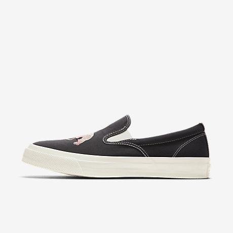 Converse Chuck Taylor All Star Deck Star 67 Slip Flamingo Black Men Shoe 160488C