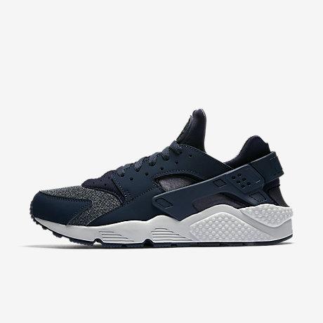Nike Air Huarache Black And Blue