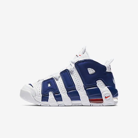 nike air more uptempo gs black pink 4; nike air more uptempo big kids shoe
