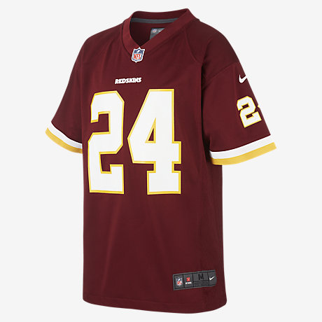 NFL Washington Redskins (Josh Norman) Kids' American Football Home Game  Jersey