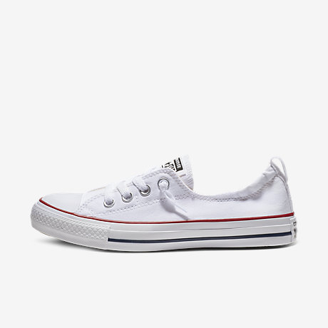 converse shoes all white. converse chuck taylor all star shoreline women\u0027s slip-on shoe shoes white