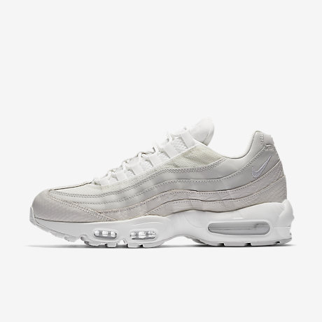 The Nike Air Max 95 Will Release In The Triple White Color Scheme