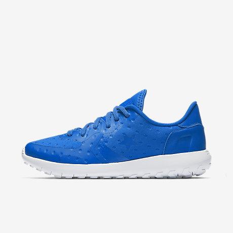 Nike Roshe Court Femmes Bleu Conversent