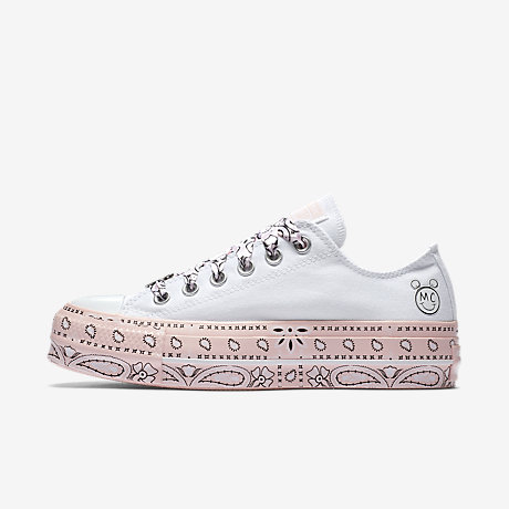 Converse CONVERSE X MILEY CYRUS CHUCK TAYLOR ALL STAR LIFT - Trainers - pink 6UIldcfez