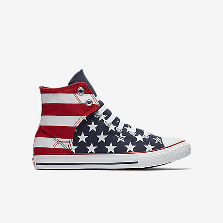 all star shoes for girls 2016. converse chuck taylor all star american flag high top (10.5c-6y) little/big kids\u0027 slip-on shoe. nike.com shoes for girls 2016 s