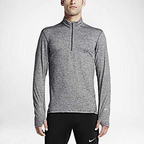 Nike Dry Element Men's Half-Zip Long Sleeve Running Top. Nike.com